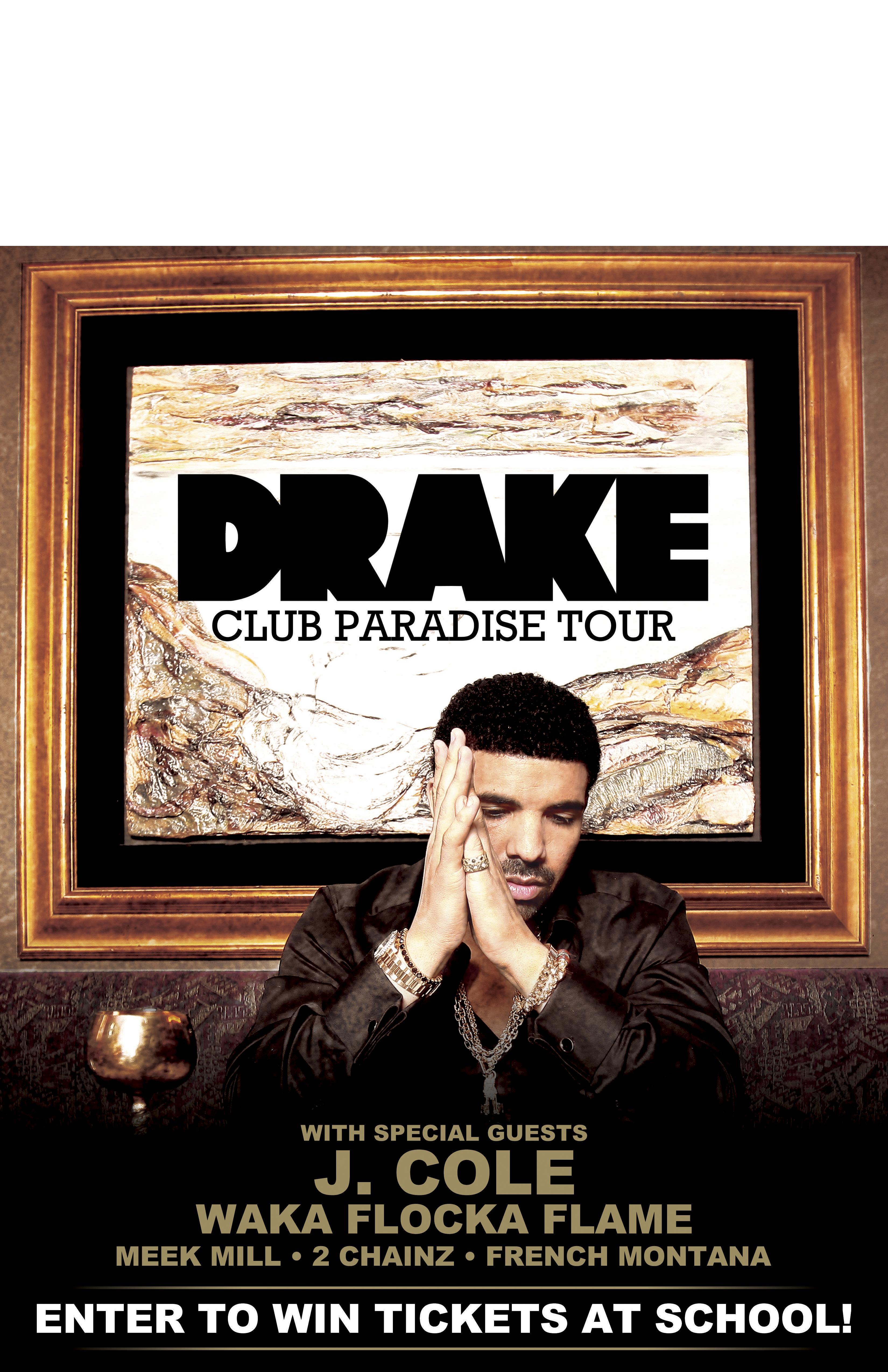 Drake Paradise Tour Tickets